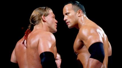 Jericho vs. Rock Royal Rumble 02