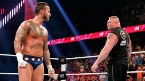 CM Punk and Brock Lesnar